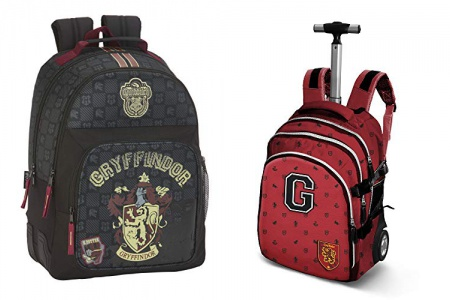 Mochila escolar harry potter con ruedas